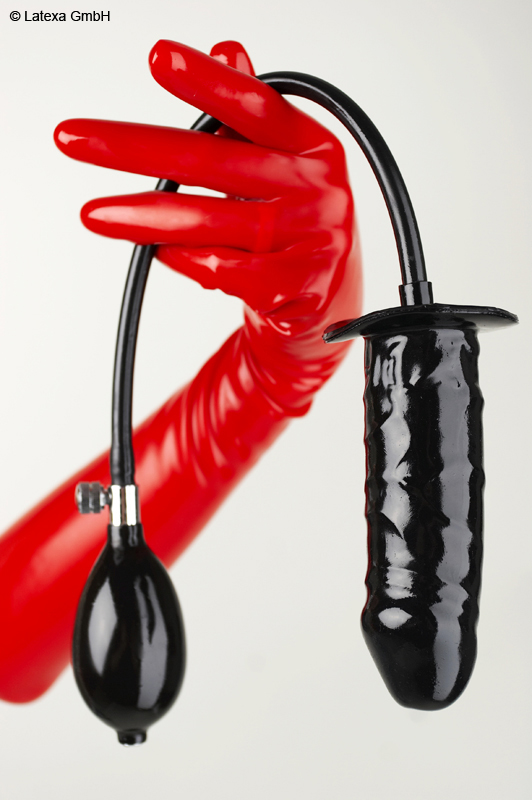 Inflatable dildo, M